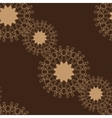 Seamless Brown Color Tile vector image vector image