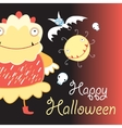 The beautiful of shalloween vector image vector image