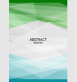 vertical bright poster with empty place for text vector image