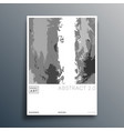 abstract minimal design for flyer poster vector image vector image