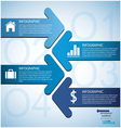 Arrow Infographic vector image vector image