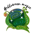 magic plant ball vector image vector image