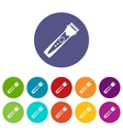 Clipper set icons vector image vector image