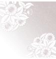 Cultural floral design vector image vector image
