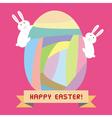 Happy Easter2 vector image vector image
