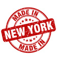 made in New York vector image