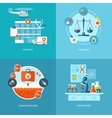 medical and health icons set for web design mobile vector image vector image