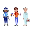 People different professions vector image