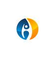 success life logo design template vector image vector image