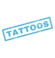Tattoos Rubber Stamp