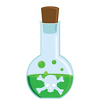 Toxic potion vector image vector image