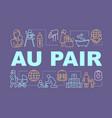 babysitting au pair concepts banner