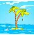 Beach Cartoon vector image vector image