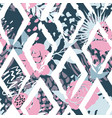 beautiful abstract seamless pattern vector image vector image