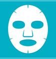 facial mask cosmetics medicine cosmetology vector image