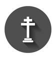 halloween grave icon gravestone rip tombstone vector image vector image