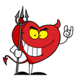Heart Devil vector image vector image