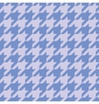 Houndstooth tile blue background wallpaper vector image vector image
