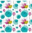 Lotus seamless pattern vector image vector image