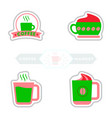 sets of label frames and badges icons vector image vector image