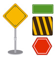 Signs design vector image