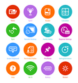 System flat icons - Set III vector image vector image