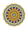 abstract design element round mandala in vector image vector image
