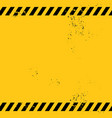 blank warning banner vector image