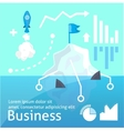 bussines startap infographic vector image vector image