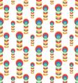 Herringbone Peacock patternSeamless Background vector image