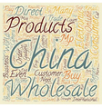 Reasons To Buy Electronics From China text vector image vector image