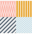 seamless modern geometric textile background vector image vector image