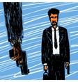 The crime scene vector image vector image