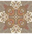traditional ornamental floral paisley bandanna vector image vector image
