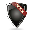 Protected Shield vector image