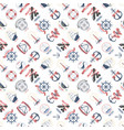 nautical marine sea anchor design graphics vector image