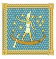 Pharaoh in the frame vector image