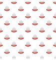 bowling sport pattern seamless vector image vector image