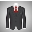 Business suit concept vector image vector image
