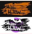 Cards for the Halloween vector image vector image