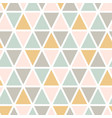 modern abstract seamless triangle pattern vector image