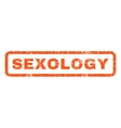 Sexology Rubber Stamp vector image vector image
