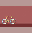 bike in town vector image