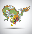 Chinese dragon2 vector image vector image