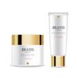 cosmetics cream moisturizer isolated vector image vector image