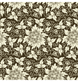 Cultural floral patterns vector image vector image