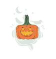hand drawn abstract cartoon happy halloween vector image vector image