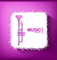 light music concept vector image