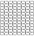 simple linear filigree pattern vector image vector image
