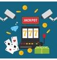 Casino icon design vector image